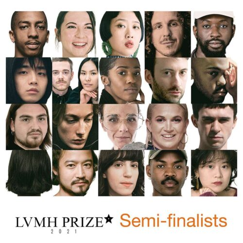 Semi-final of the 2021 LVMH Prize