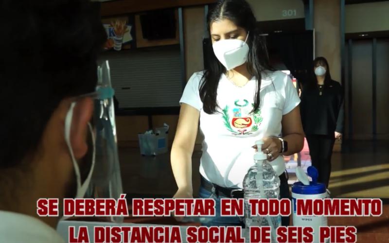 Consejos a peruanos sobre protocolos de bioseguridad en elecciones del 11 de abril