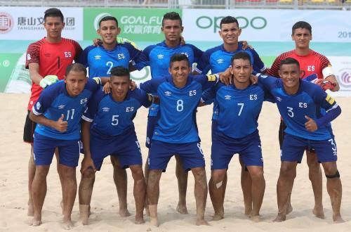 El Salvador clasifica al Mundial de Fútbol de Playa en Rusia