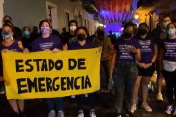 Mujeres en Puerto Rico exigen medidas para combatir los crecientes feminicidios
