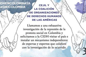 Fuerza excesiva de la seguridad colombiana