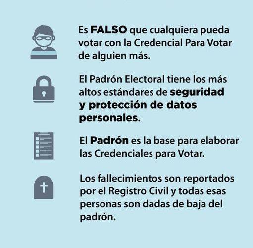 INE listo para recibir el voto mexicano