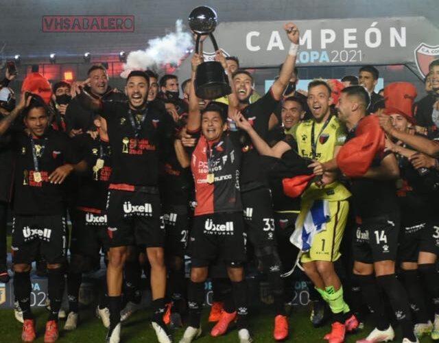 Colón, nuevo campeón de la Liga Profesional argentina