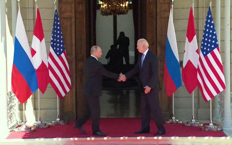 Los presidentes Biden y Putin se reúnen en la esperada cumbre de Ginebra