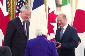 El G7 respalda una tasa de impuestos corporativos del 15%, cifra criticada por ser demasiado baja