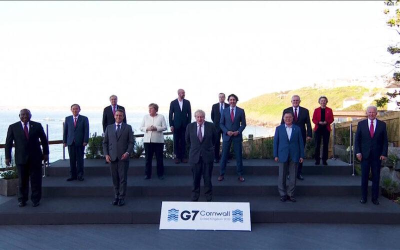 Concluye la cumbre del G7 en Inglaterra