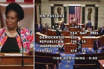 La Cámara Baja de EE.UU. vota por amplia mayoría a favor de establecer el 19 de junio como feriado federal