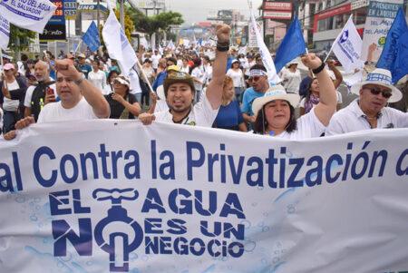 Ley de Agua: Asamblea [Legislativa salvadoreña] debe escuchar a organizaciones