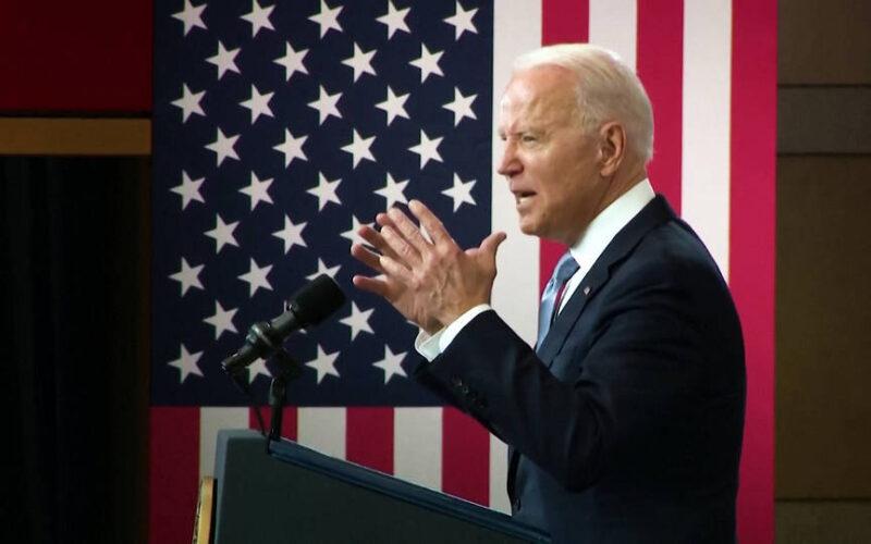 """Biden condena la """"subversión electoral"""" republicana"""