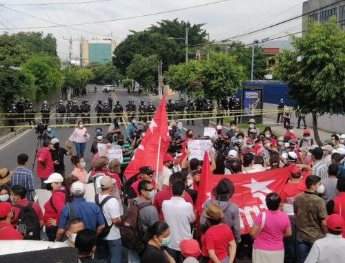 Action Needed Today: Call for release of political prisoners in El Salvador