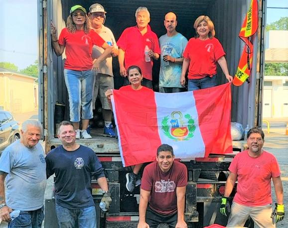 Importante donación a los bomberos peruanos desde EEUU