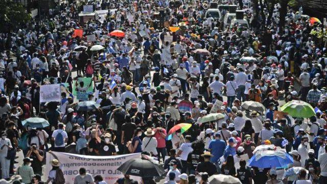 La protesta social es el camino