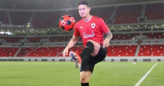 Mal comienzo de James Rodríguez en Liga de Qatar