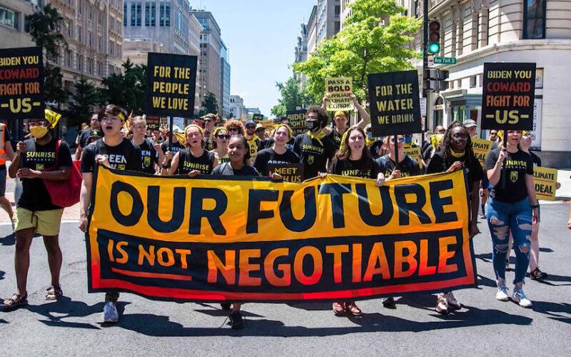 Activistas medioambientales inician una huelga de hambre frente a la Casa Blanca